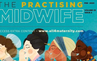 ExpectingApp featured in Professional Journal The Practicing Midwife