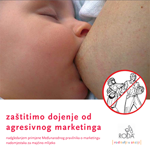 Zaštitimo dojenje od agresivnog marketinga